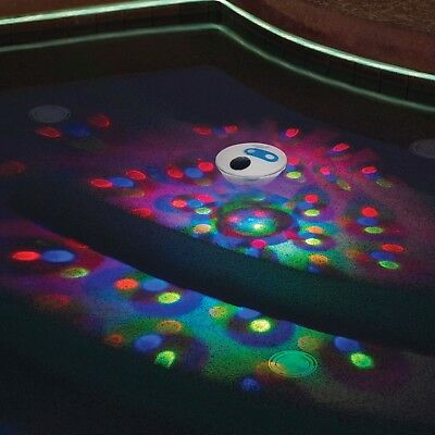 Solar Underwater Light Show LED Glow Floating Pond For Spa Swimming Pool Hot Tub