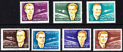 Hungary 1962 Mint The International Space Travel Conference Cosmos Complete Set