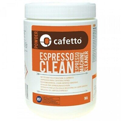 CAFETTO Espresso clean Powder 1kg Coffee Machine Cleaner for Professional Use