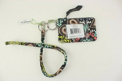 New with tags Vera Bradley Zip ID Case and Lanyard in Sierra