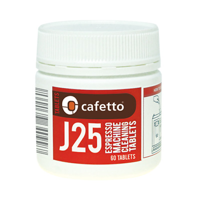 CAFETTO J25 Super Automatic Espresso Coffee Machine Cleaner Cleaning 40 Tablets