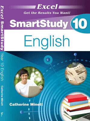 Excel SmartStudy English Study Guide Year 10 NEW Free Shipping! 9781741256055