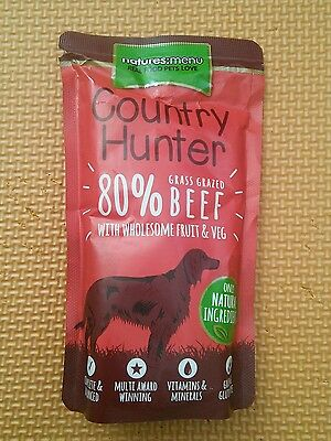 - Country Hunter Grass Grazed Beef Dog Pouches 150g x 5
