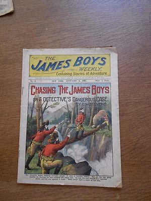 The James Boys Weekly 1901