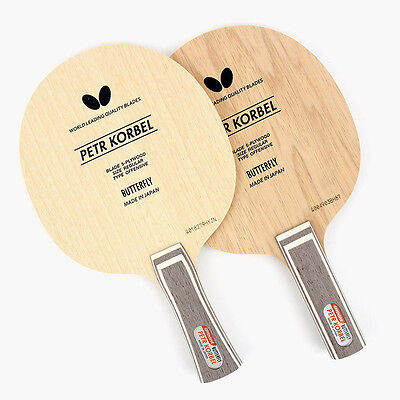 Butterfly Petr Korbel Shakehand (ST/FL)Table Tennis Paddles Ping Pong Racket Bat