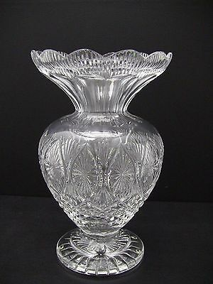 """Beautiful Waterford Crystal Master Cutter Vase 12"""""""