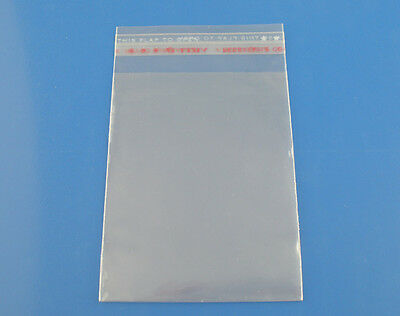"200 Resealable Self-Sealing Bags, usable space 10cm x 7cm (4"" x 2-3/8"") bag0078"
