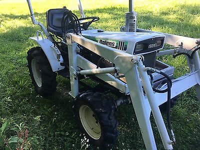 Bolens Iseki H1704 Tx2160 4Wd Compact Tractor And Loader Attachment