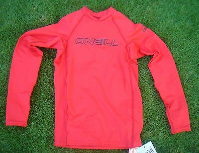O'Neill Kids Youth Basic Skins L/S Crew (Size 16 for Kids) - Free Shipping US