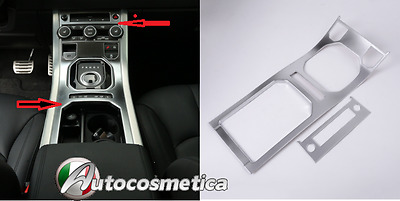 2 Cover Piastre tunnel centrale in Abs satinato Range Rover Evoque 4 porte