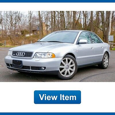 2001 Audi A4 Base Sedan 4-Door 2001 Audi A4 Quattro 1.8 Turbo Low 79K mi Serviced 5 Speed Manual CARFAX!