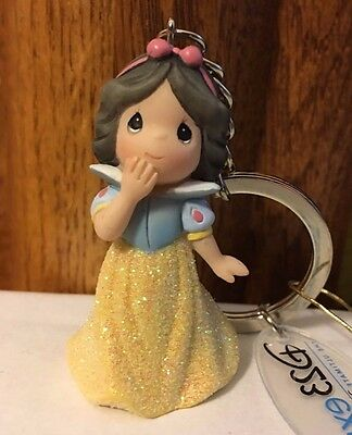 SNOW WHITE SIGNED KEY CHAIN D23 EXPO 2017 Precious Moments Princess Disney
