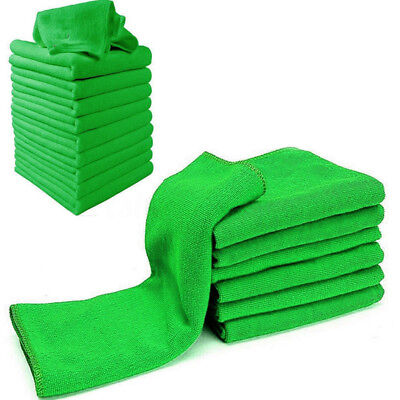 50Pcs Micro Fiber Soft Cloth Towels Set for Auto Car Detailing Cleaning Washing