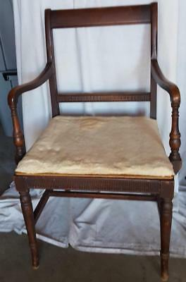 Wonderful Early 20th Century Arm Chair - NEEDS NEW UPHOLSTERY - GREAT BONES