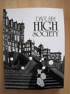 High society by Dave Sim (pbk)