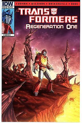 Transformers Regeneration One  #84  * First Print *  Cover A   Nm