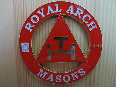 Masonic Auto Car Badge Emblems mason freemason E14 ROYAL ARCH MASONS