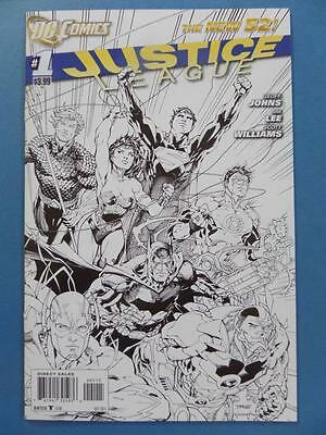 Justice League America 1 New 52 Sketch 00115 Unread Nm!