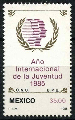 Mexico 1985 SG#1735 Int. Youth Year MNH #D53306