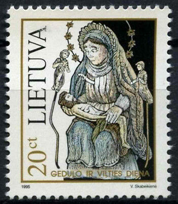 Lithuania 1995 SG#590 Day Of Mourning And Hope MNH #D52929