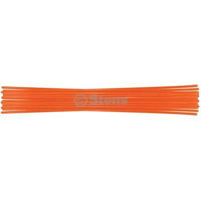 "New Stens 751-127 Hollow Orange 26"" Tall Driveway Markers Snow Stakes Plow Stake"