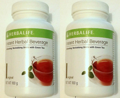 2 x Herbalife Instant Herbal Beverage Tea Concentrate New stock long expiry
