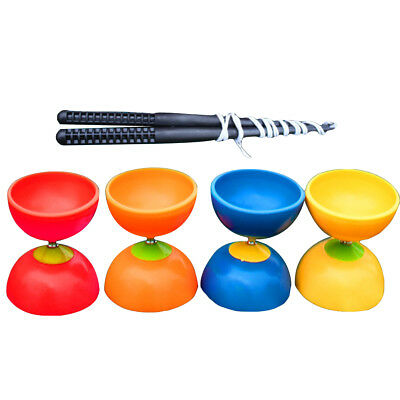 Pro 3 Bearing Diabolo + Diablo Sticks & String Toy Play set - 5 colour  Fun
