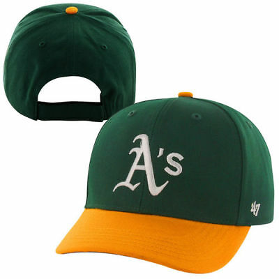 watch 56f30 4dc37  47 Brand Oakland Athletics Youth Basic Adjustable Hat - Green - MLB.