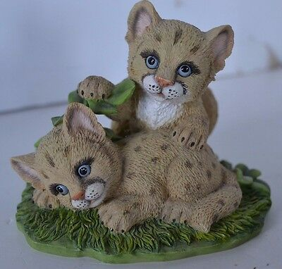 Vintage Endangered Young'uns Hamilton Cuddly Cougars Figure