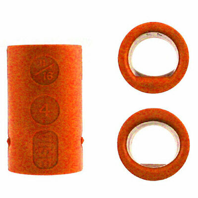 2er Set Vise Grip Ultimate Power-Lift Finger Inserts orange Bowlingball Einsätze