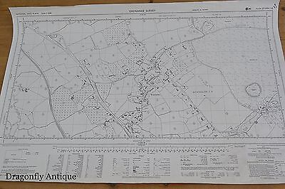 Ordnance Survey Map Vintage Job Lot 55 Somerset England Large Scale INTERESTING