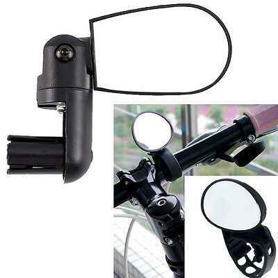 Bike Rear View Bicycle Cycling Bike Eye Mirror Road Touring Commuter Hybrid MTB