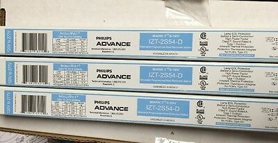 Advance Izt-2S54-D 120/277V Dimmable Programmed Start Ballast 0-10V Mark7