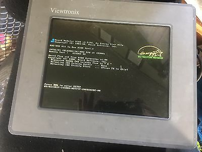 Viewtronix Industrial Computer Panel Mount 6.4G Hard Drive Ic1210