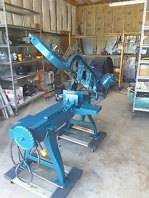 Wells  Horizontal Band Saw, 120V, perfect operating cond. brand new blade