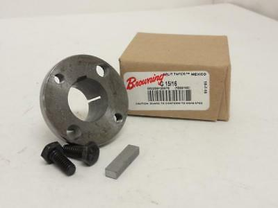 "146406 New In Box, Browning G 15/16 Split Taper Bushing, 15/16"" ID  Flange OD: 2"