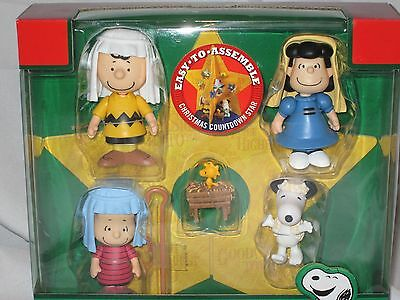 NEW Peanuts Christmas Pageant/ Nativity Play Countdown Star Rare Advent Calendar