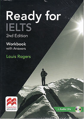 Macmillan READY FOR IELTS 2nd Edition Workbook with Answers & Audio CDs @NEW@