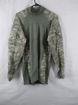 USGI ACU Massif Medium Digital Camo Army Combat Shirt Flame Resistant ACS