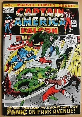 Captain America And The Falcon  151, 152  July / Aug 1972
