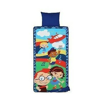 Disney Little Einsteins Soft Lunchbox Leo Quincy June Anne
