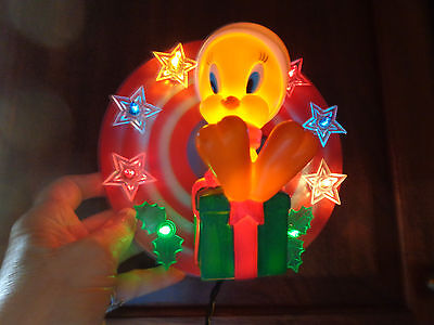 Looney Tunes 1997 12 Light Tweety Bird Christmas Tree Topper By Minami In Box