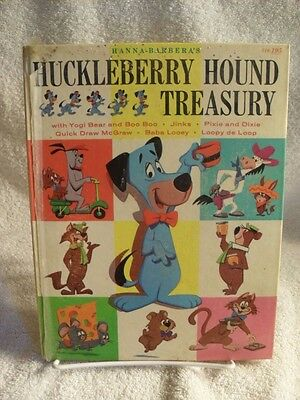 Scarce! Huckleberry Hound Treasury With Yogi Quick Draw McGraw Jinks 1960 Book