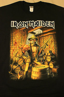 Iron Maiden 2016 Exclusive Event Shirt Xl United Center, Chicago, April 6, 2016