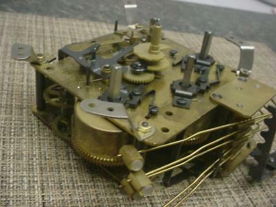 7310 A403-001 2J Seth Thomas Clock Brass Movement made by General Time E1036b
