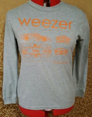 Weezer Punk Rock Band Graphic long sleeve T-shirt size   12/14 Large *New*