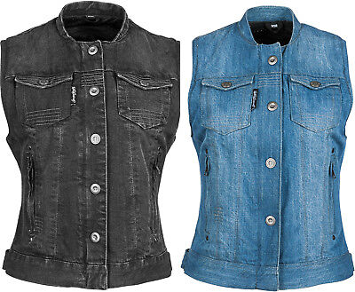 Speed & Strength Womens Glory Daze Armored Denim Vest