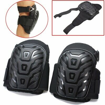 Professional Heavy Duty Work Knee Pads Gel Cushion Construction Adjustable Safe