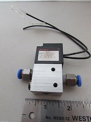 Humphrey Electric Air Pneumatic Control Valve 310 120V Coil 4.5 Watts 0-125 PSI