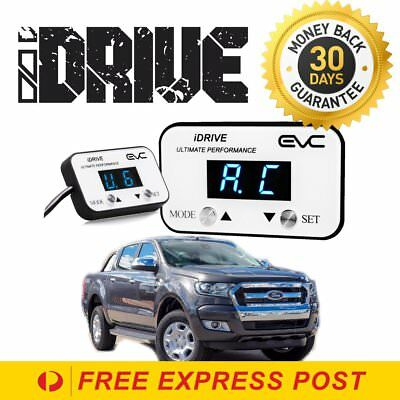 NEW iDrive WindBooster Throttle Control FORD RANGER PX MKII 2015-Onwards EVC622